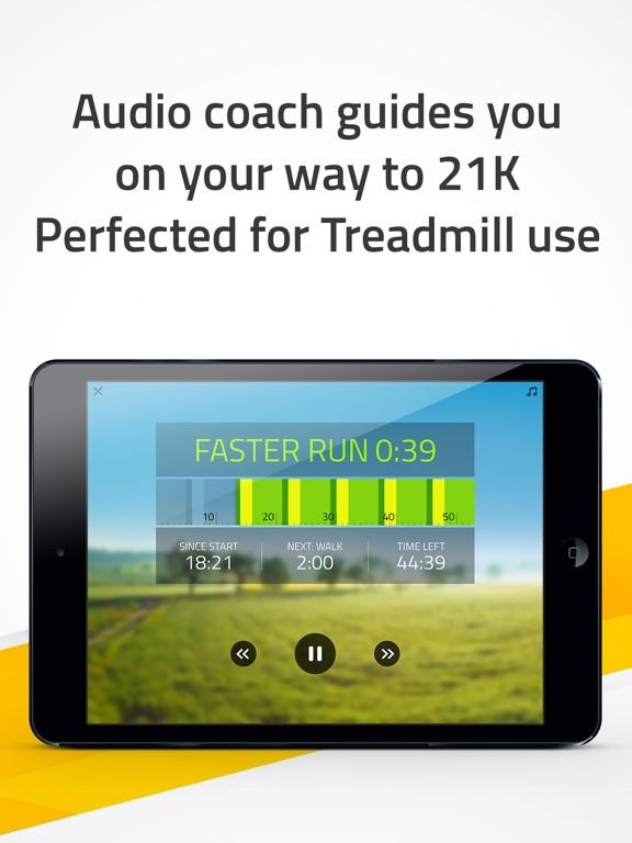 Half Marathon: 21K Runner training screenshot