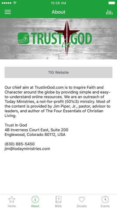 Trust In God screenshot 2