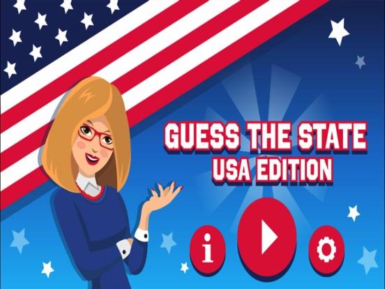 Guess the USA State screenshot 3