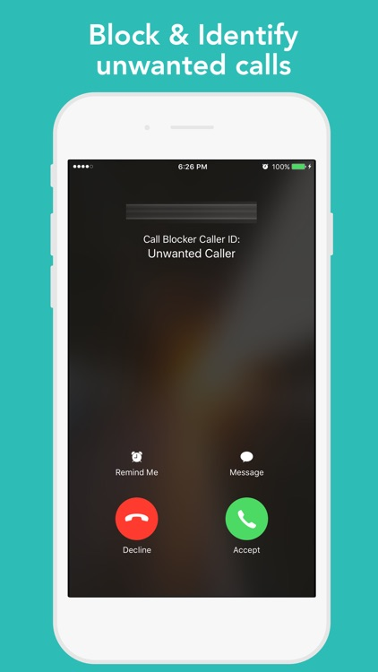 CallBlocker - Bulk block range of unwanted callers