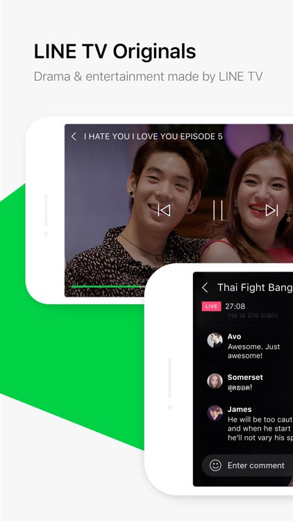 LINE TV screenshot-1
