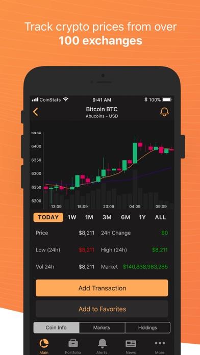 Coin Stats - Crypto Portfolioスクリーンショット