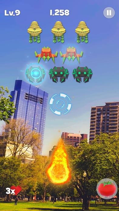 Space Alien Invaders AR screenshot 1