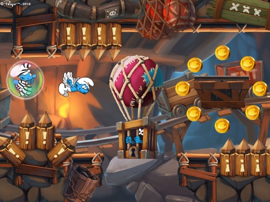 Скачать игру Смурфики: Легендарный забег