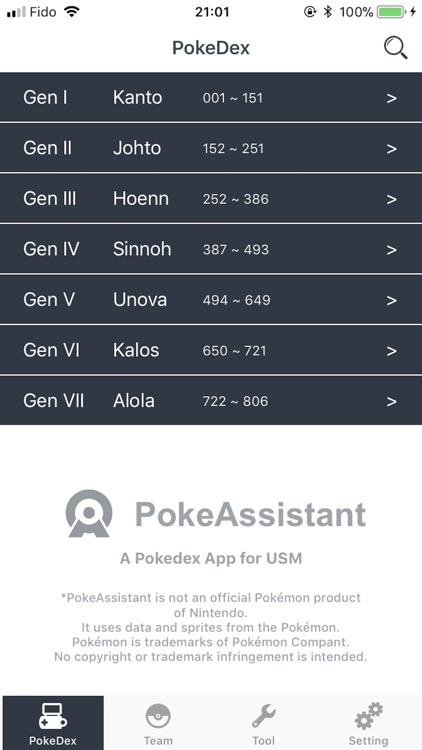 PokeAssistant - Team Analyzer