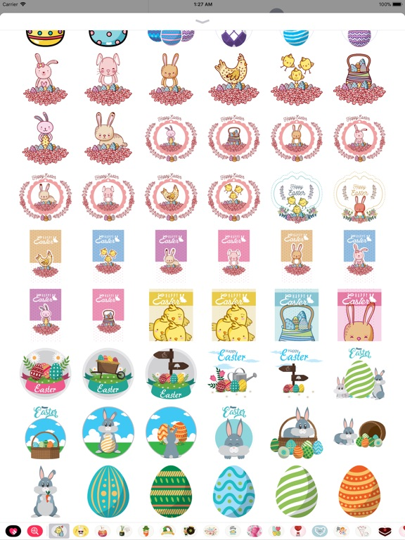 Happy Easter Day Stickers screenshot 9