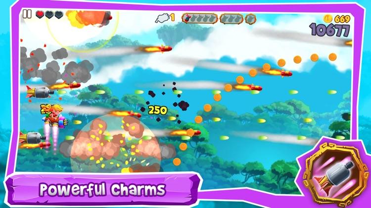 SkyLand Rush - Air Raid Attack screenshot-5