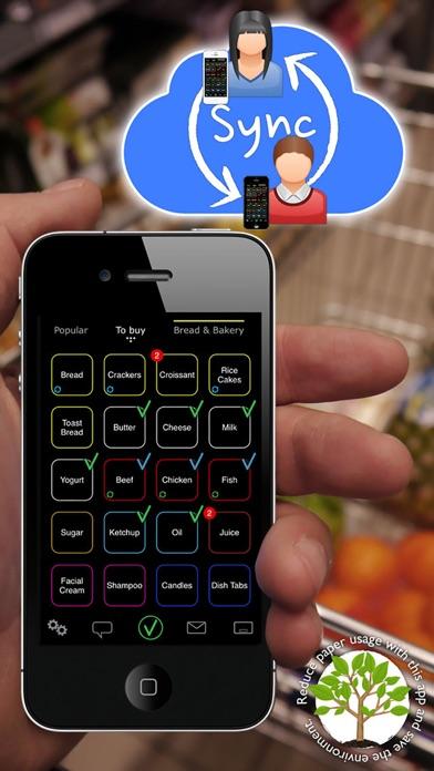 Quicky Shopping List Screenshots