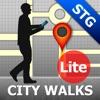 Santiago Map and Walks