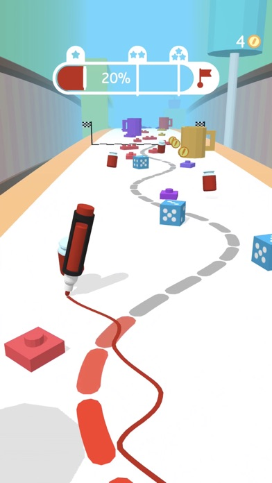 Pen Run screenshot 1