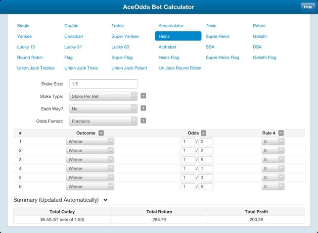 Bet Calculator UK on the App Store