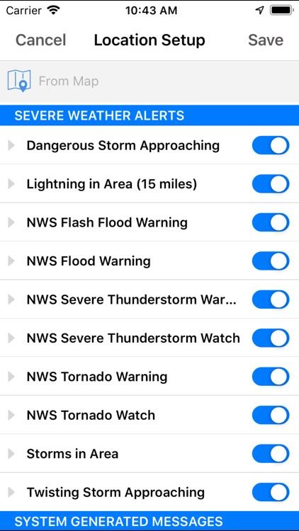 Storm Tracker NOW screenshot-4
