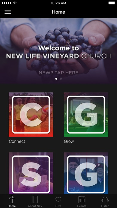 New Life Vineyard screenshot 1