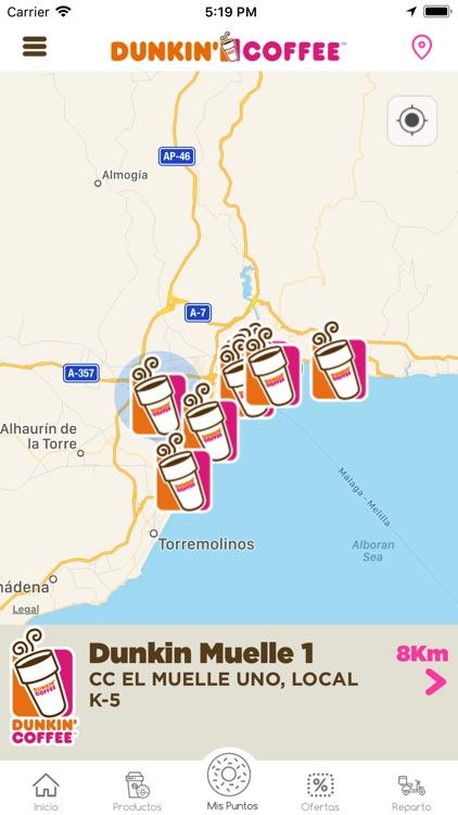 Dunkin Coffee España screenshot-4