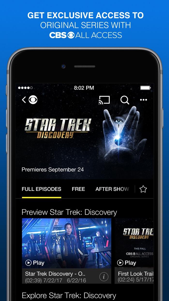 CBS - Full Episodes & Live TV Screenshot