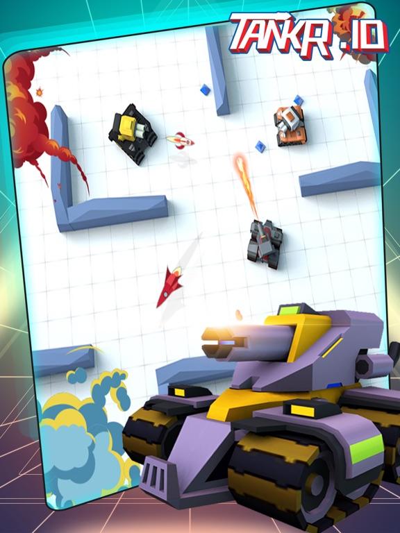Игра Tankr.io-Tankr Realtime Battle