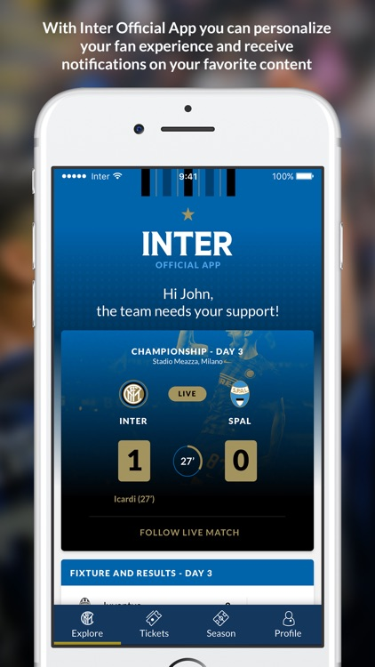 Inter Official App screenshot-0