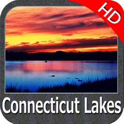 Connecticut lakes - fishing HD GPS chart Navigator