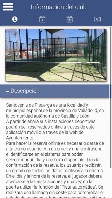Ayto Santovenia Deportes screenshot 1