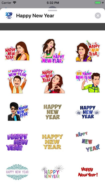 Stickers Happy New Year 2019 screenshot-3