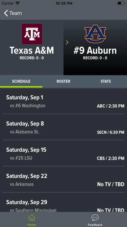 Texas A&M Football screenshot-7