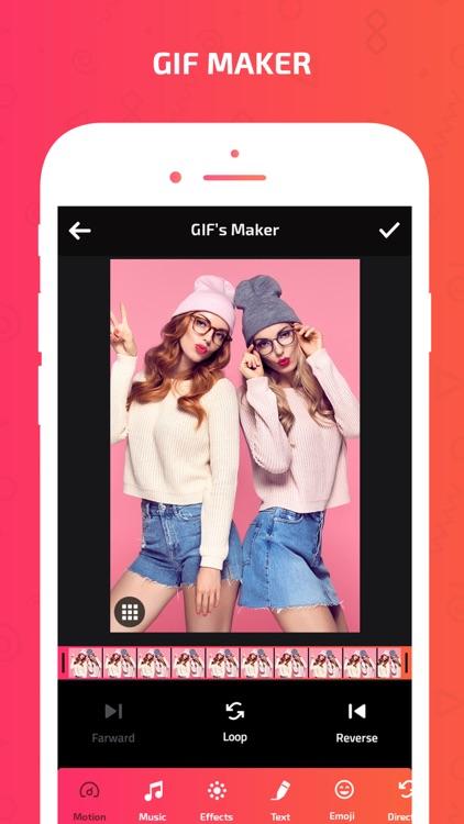 Gif Maker-Gif Creator & Editor screenshot-3