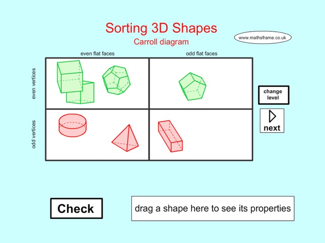 Sorting 3d Shapes Carroll On The App Store