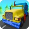3次元トラック運転ゲーム