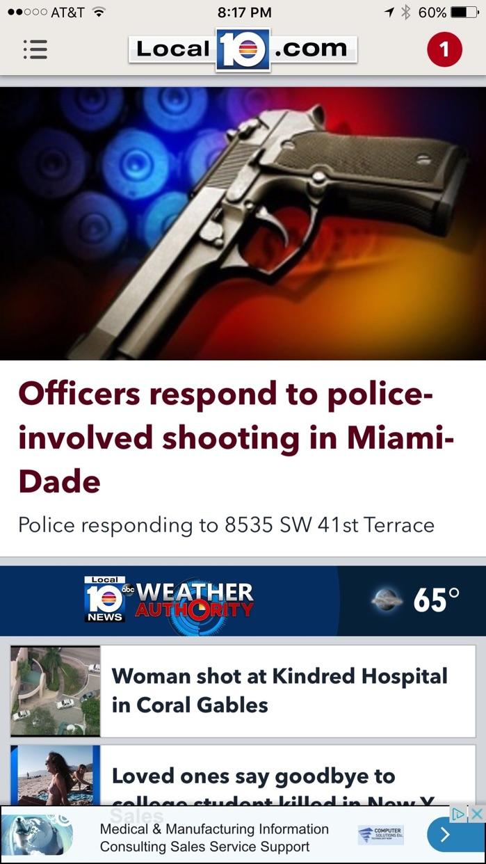 WPLG Local 10 - Miami Screenshot