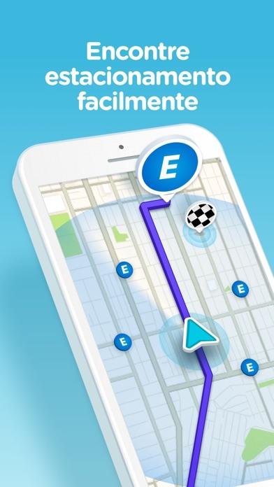 Screenshot for Waze – GPS e Trânsito ao vivo in Portugal App Store