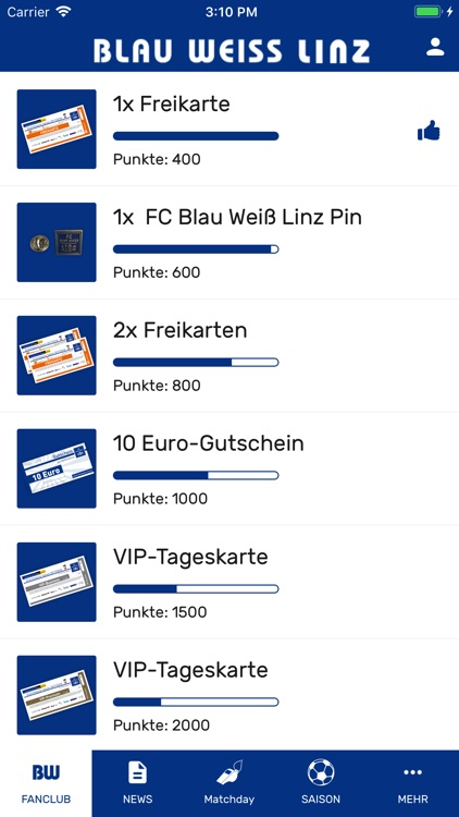 Blau Weiß Linz screenshot-2