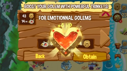 Screenshot of Golem Rage App