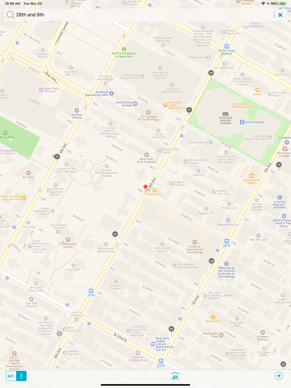 Bike NYC - CitiBike Map   App Price Drops Citibike Map on