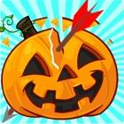 Ciudad de Halloween calabaza icon