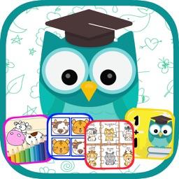 Preschool Education Fun Game