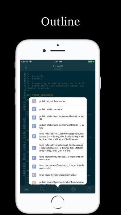 Socode - Source Code Viewer - App - iOS me