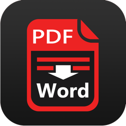 Ícone do app PDF to Word Converter-to DOC