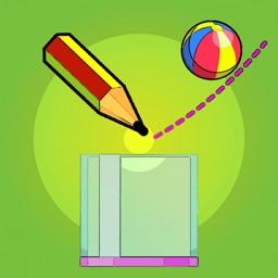 Physics Draw Line: Happy Ball