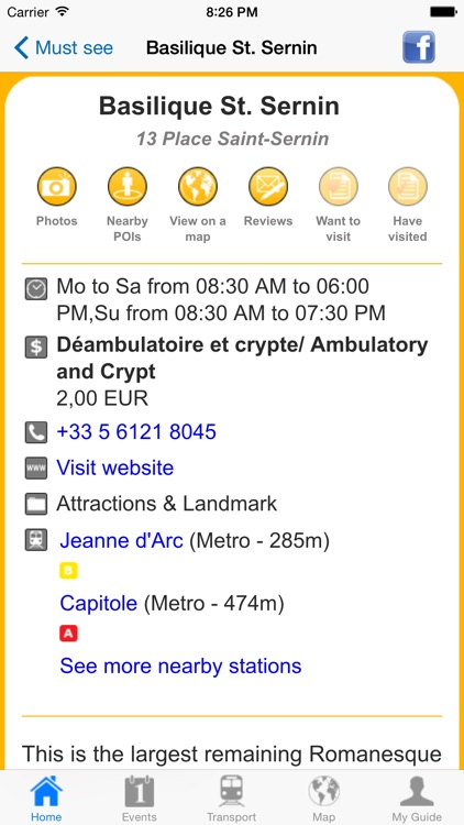 Toulouse Travel Guide Offline screenshot-4
