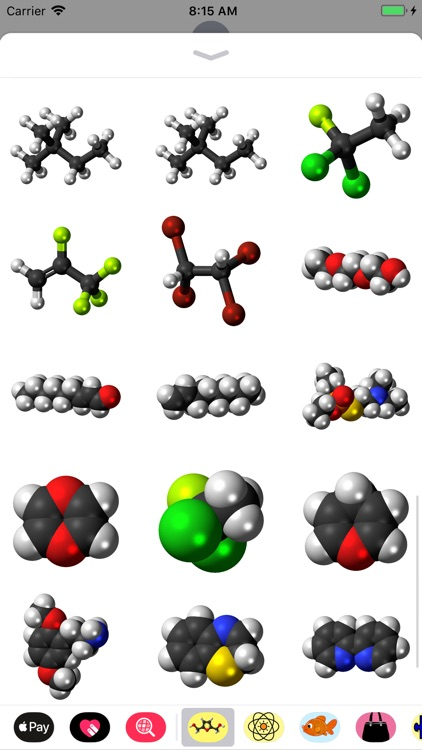 Molecule Stickers screenshot-3