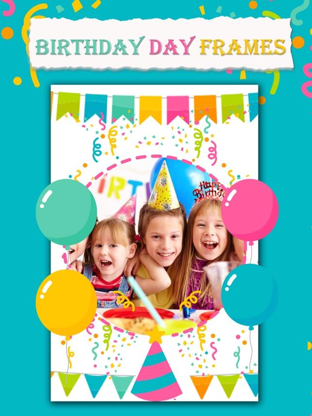 Geburtstag Frames APP, birthday Collage Maker App im App Store