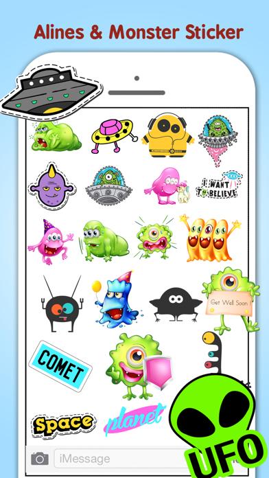 Monster Aliens & Ufo's screenshot two