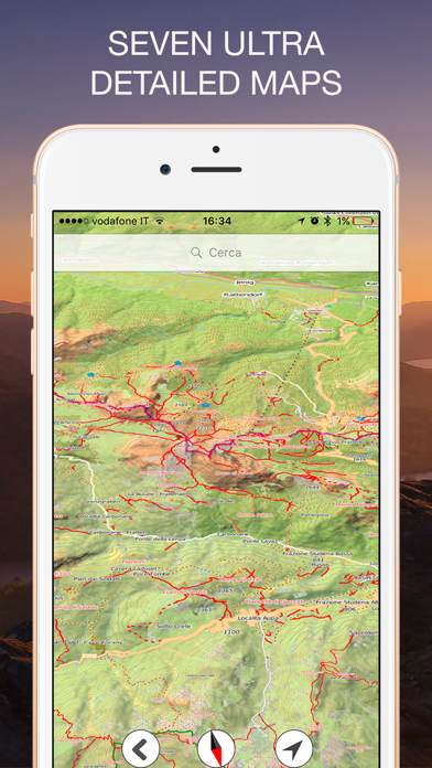 Screenshot for Altimetro GPS PRO in Italy App Store