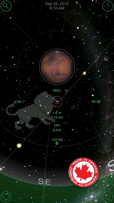 GoSkyWatch Planetarium - the astronomy star guide Screenshot 1