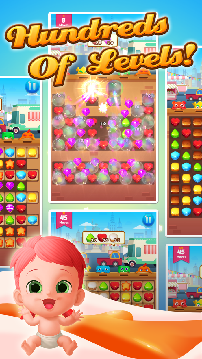 Cookie Crush . Screenshot