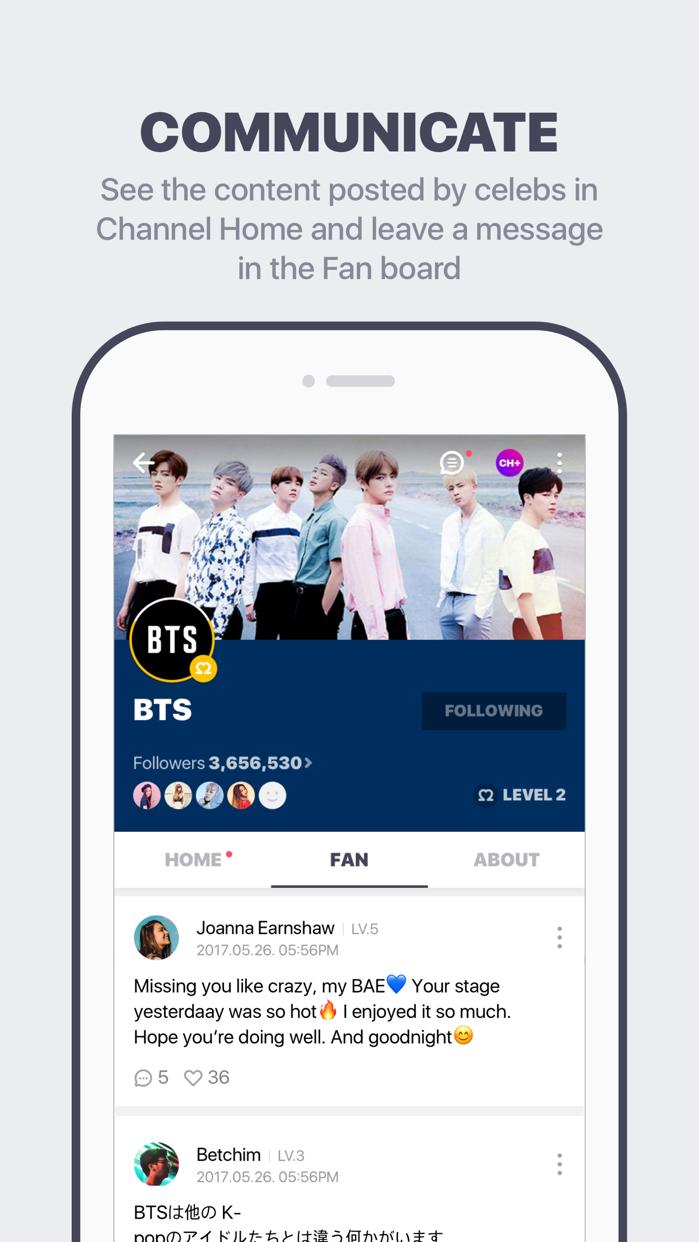 V LIVE - Star Live App Screenshot