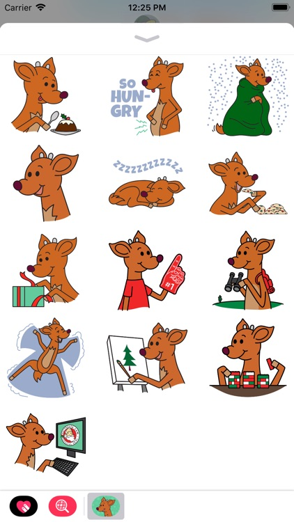 Raymond the Reindeer Stickers screenshot-3
