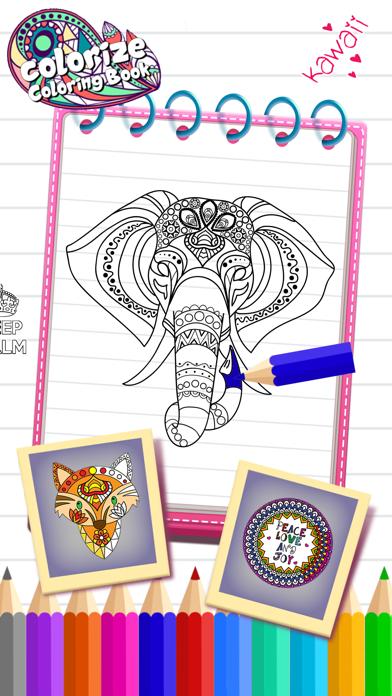 Mandala Coloring Book & Arts Screenshot