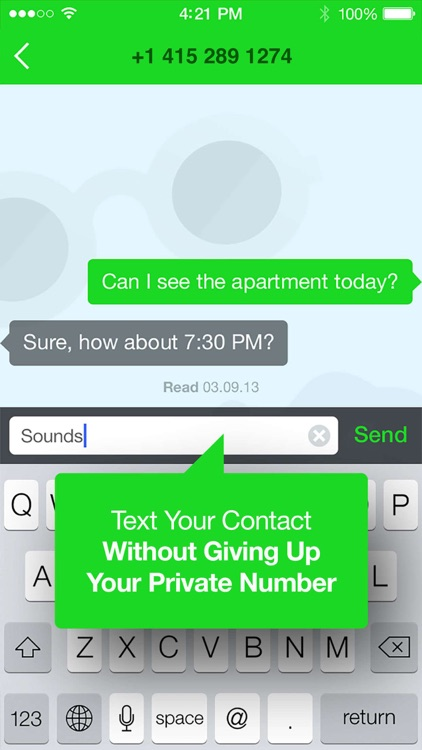 Baffo: Phone Number for Text screenshot-3