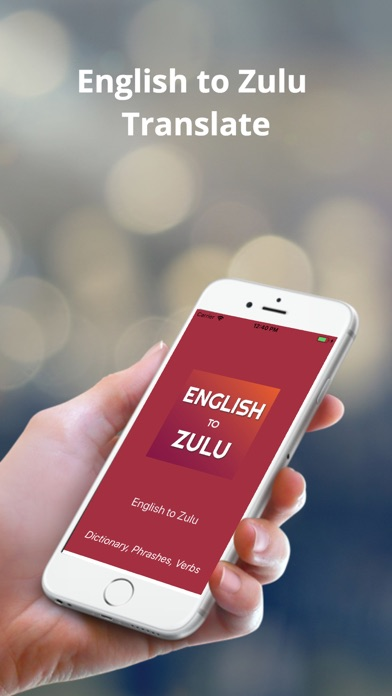 English to Zulu Translator screenshot one